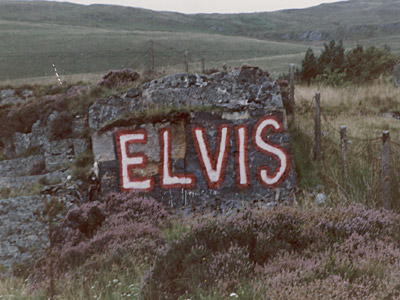 The Elvis Rock in about 1994. Photo: Gwenllian Ashley