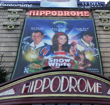 Snow White at the Bristol Hippodrome - the musical theatre where film star Cary Grant began his career in the 1920s