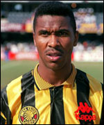 Lucas Radebe when he played for the Kaiser Chiefs