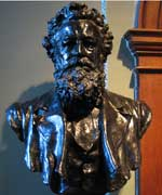 William Morris Bust