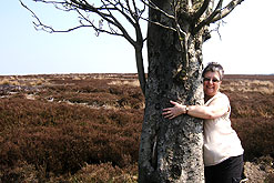 Liz Paterson and her favourite tree
