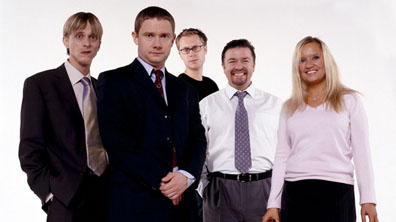 Gareth, Tim, David, Dawn and Stephen Merchant