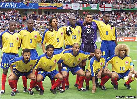 Colombia, World Cup 1998