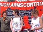 INNATE demonstration opposing NI involvement in missile production and the arms trade
