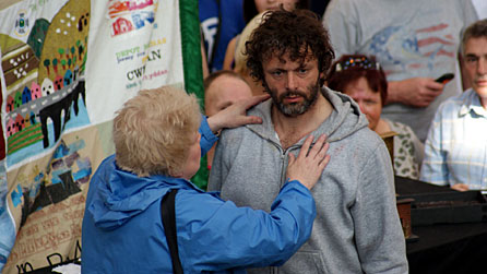 Michael Sheen in The Passion. Photo: Luned Aaron