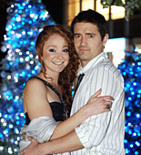 Is a happy Christmas in store for Maria (Phoebe Thomas) and Sam (Tom Chambers)?