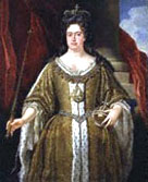 Portrait of Queen Anne from the school of John Closterman
