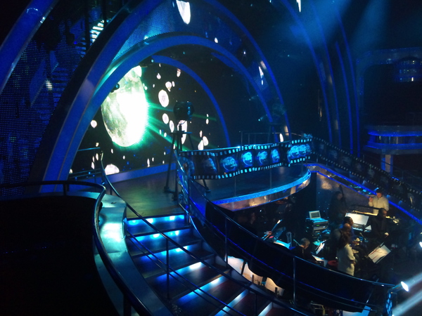 The set for the Strictly Come Dancing Movie Special