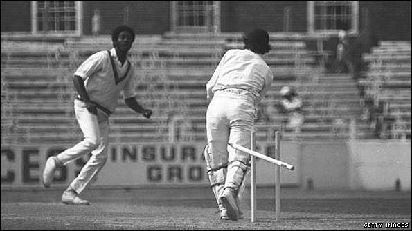 Michael Holding destroyed England at The Oval in 1976