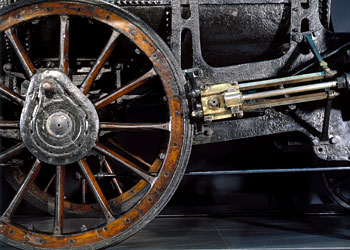Detail of Stephenson's 'Rocket', 1829