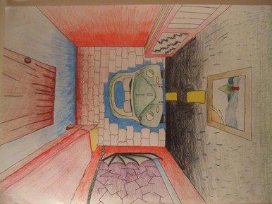 Bbc blast art design surreal room for Room design 2d