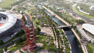 Artist's impressions of Queen Elizabeth Olympic Park in 2013