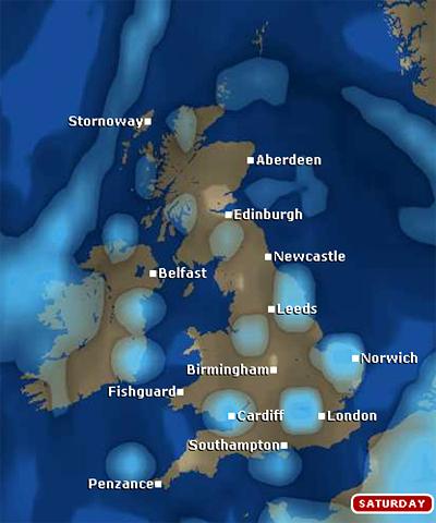 Scotland Weather Map.Bbc Radio Scotland Blog Easter Weekend Weather