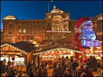 frankfurt market victoria square - Birmingham Christmas Market