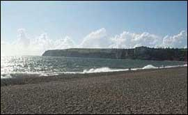 The coast at Seaton