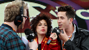 Huw Stephens, Annie Mac and Grimmy