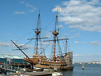 Replica Mayflower Ship