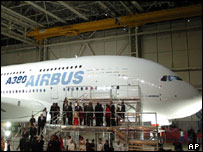 The Airbus A380 Superjumbo