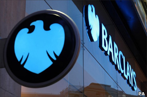 Barclays Bank sign