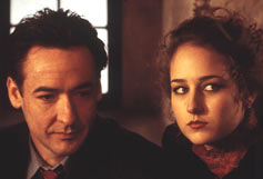 John Cusack as Max Rothman & Leelee Sobieski as Liselore von Peltz, in the film Max