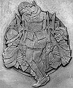 Bronze carving