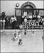 Small Swimming Bath, c1905