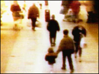 James Bulger CCTV image