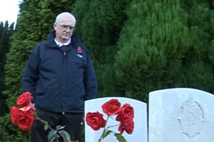 As a Falkland veteran Ian is well aware of the horrors of war and he reflects on what life must have been like for soldiers in the trenches.