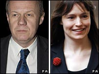 Damian Green and Ruth Turner