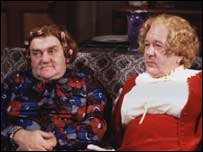 Les Dawson and Roy Barraclough as Cissy and Ada