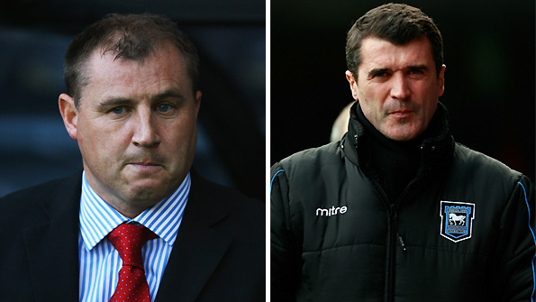 Paul Jewell (left) has been linked with Ipswich after the sacking of Roy Keane.