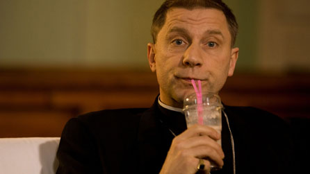 Simon McBurney as Archdeacon Robert