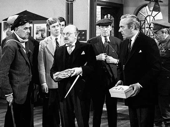 The Cast, from the first episode, 'The Man and the Hour'.