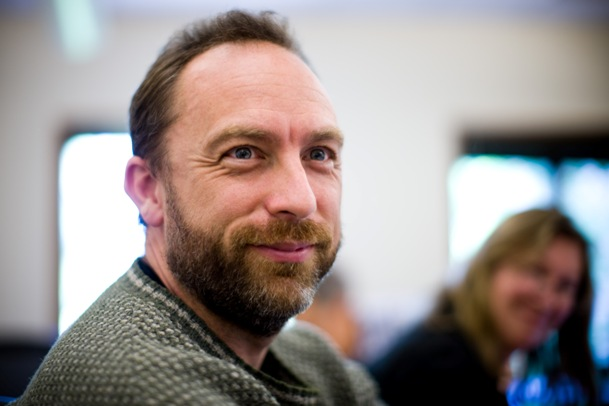 Photo of Jimmy Wales by Joi Ito - CC Attribution 2.0 Generic