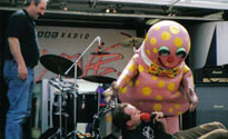 Mr Blobby and Neale James