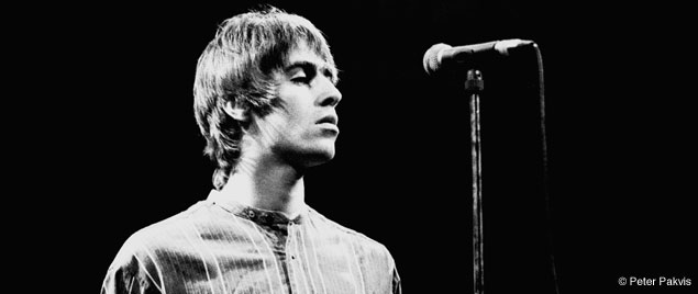 Liam Gallagher of Oasis at the  Oasis Liam Gallagher Young