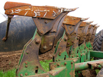 Tractor blades