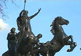 Image of statue of Boudicca