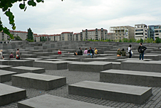 The Monument to the Murdered Jews of Europe in Berlin
