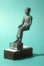 Bronze statue of Imhotep