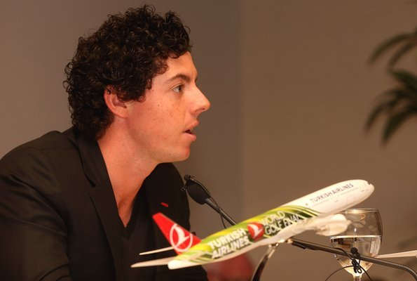 Rory McIlroy at the Turkish Airlines World Final press conference