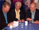 Tim Brooke-Taylor, Barry Cryer and Graeme Garden
