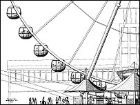 Solent Eye - architect drawing