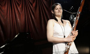 Classical Star: Karen plays the Bassoon