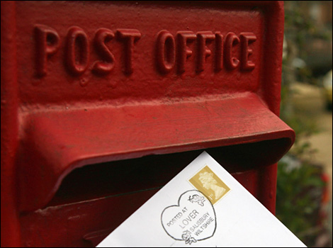 Lover's Post Office Closes