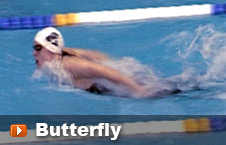 Swimming the butterfly