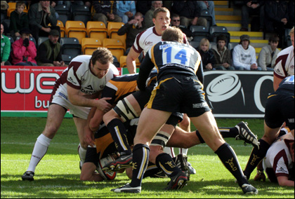 Warriors v Leicester Tigers in EDF Energy cup