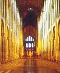 Image of nave at Ely Cathedral