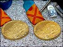 Tanni's gold medals