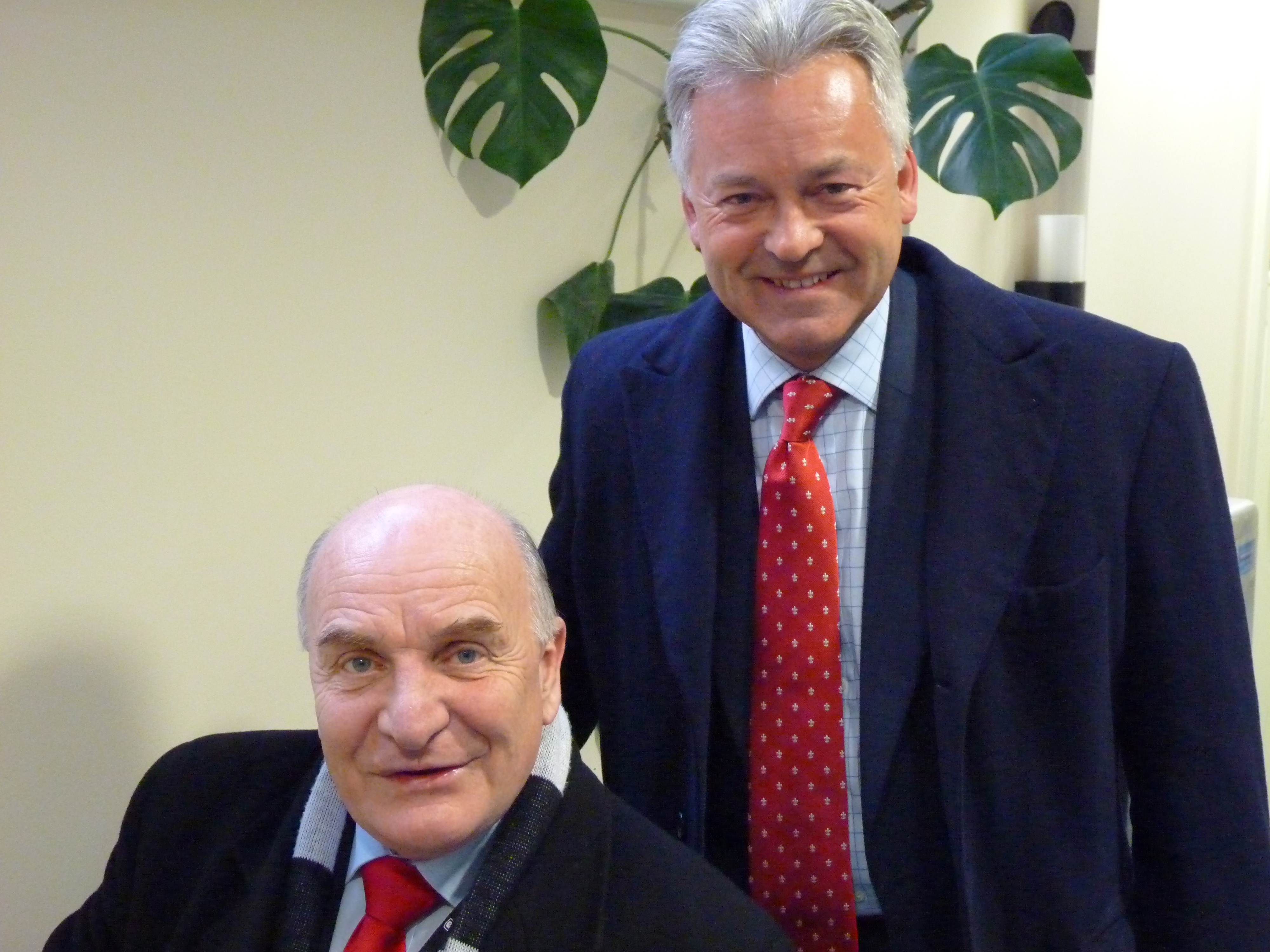 MPs Stephen Pound and Alan Duncan